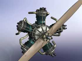 哈恩星形发动机